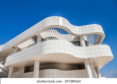 LOS ANGELES -  JUNE 1: The J. Paul Getty Museum on June 1, 2015, commonly referred to as the Getty, is an art museum in California housed on two campuses: the Getty Center and Getty Villa.