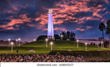 Los Angeles Long Beach lighthouse