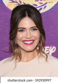 """LOS ANGELES - MAR 04:  Mandy Moore arrives for the """"Tangled Before Ever After"""" Series Premiere on March 4, 2017 in Beverly Hills, CA"""