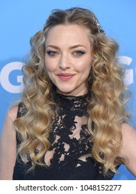 LOS ANGELES - MAR 06:  Amanda Seyfried arrives for the 'Gringo' World Premiere on March 6, 2018 in Los Angeles, CA