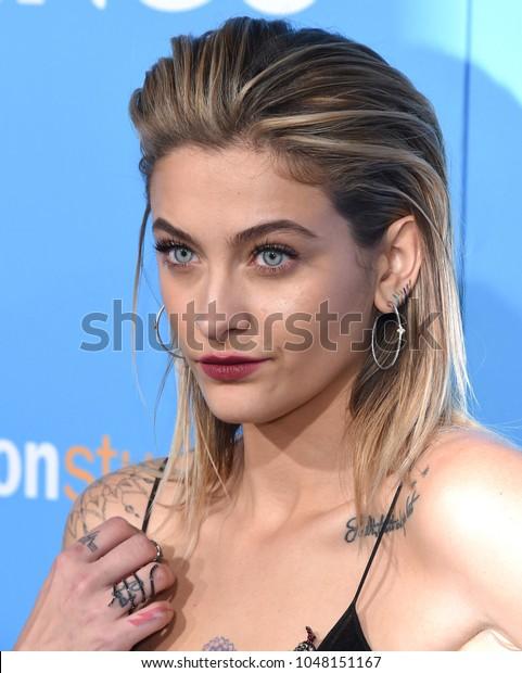 Los Angeles Mar 06 Paris Jackson Celebrities Stock Image 1048151167