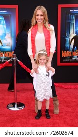 """LOS ANGELES - MAR 06:  Taylor Armstrong & Kennedy arrive at the """"Mars Needs Moms"""" World Premiere  on March 06, 2011 in Hollywood, CA"""