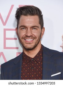 LOS ANGELES - MAR 07:  Andy Grammer arrives for the 'Five Feet Apart' Los Angeles Premiere on March 07, 2019 in Westwood, CA