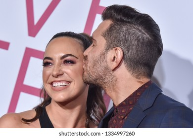 LOS ANGELES - MAR 07:  Andy Grammer and Aijia Grammer arrives for the 'Five Feet Apart' Los Angeles Premiere on March 07, 2019 in Westwood, CA