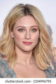 LOS ANGELES - MAR 07:  Lili Reinhart arrives for the 'Five Feet Apart' Los Angeles Premiere on March 07, 2019 in Westwood, CA