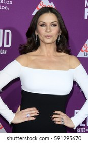 """LOS ANGELES - MAR 1:  Catherine Zeta-Jones at the """"Feud: Bette And Joan"""" Premiere Screening at the TCL Chinese Theater IMAX on March 1, 2017 in Los Angeles, CA"""