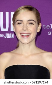 """LOS ANGELES - MAR 1:  Kiernan Shipka at the """"Feud: Bette And Joan"""" Premiere Screening at the TCL Chinese Theater IMAX on March 1, 2017 in Los Angeles, CA"""