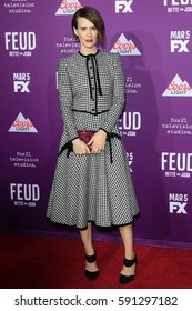 """LOS ANGELES - MAR 1:  Sarah Paulson at the """"Feud: Bette And Joan"""" Premiere Screening at the TCL Chinese Theater IMAX on March 1, 2017 in Los Angeles, CA"""