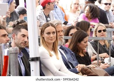 Brie Larson & Jeff Bridges Images, Stock Photos & Vectors