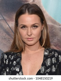 LOS ANGELES - MAR 12:  Camilla Luddington arrives for the 'Tomb Raider' US Premiere on March 12, 2018 in Hollywood, CA