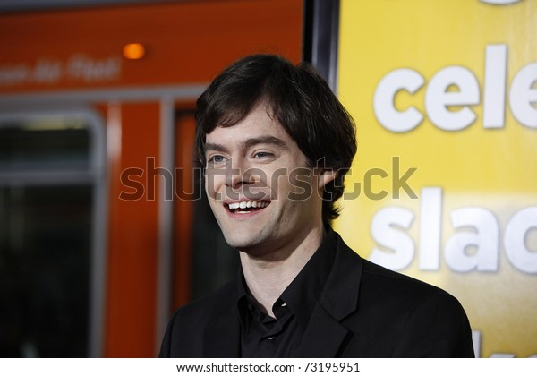 LOS ANGELES - MAR 14:  Bill Hader arriving at the US premiere of 'Paul' at the Grauman's Chinese Theater L.A.Live in Los Angeles, California on March 14, 2011.