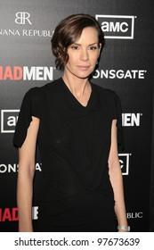 """LOS ANGELES - MAR 14:  Embeth Davidtz arrives at the """"Mad Men"""" Season 5 Premiere Screening at the ArcLight Theaters on March 14, 2012 in Los Angeles, CA"""