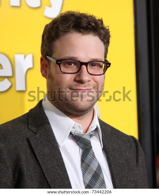 """LOS ANGELES - MAR 14:  Seth Rogen arrives at the """"Paul'"""" premiere on March 14, 2011 in Hollywood, CA"""