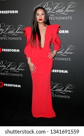"""LOS ANGELES - MAR 15:  Janel Parrish at the """"Pretty Little Liars: The Perfectionists"""" Premiere at the Hollywood Athletic Club on March 15, 2019 in Los Angeles, CA"""
