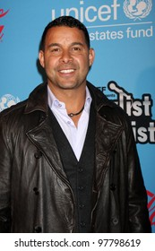 """LOS ANGELES - MAR 15:  Jon Huertas arrives at the """"UNICEF Playlist With The A-List"""" Concert at the El Rey Theater on March 15, 2012 in Los Angeles, CA"""