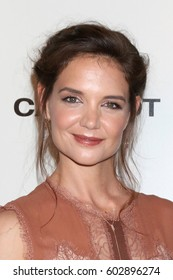 """LOS ANGELES - MAR 15:  Katie Holmes at the """"The Kennedys - After Camelot"""" Reelz's Miniseries Screening at Paley Center for Media on March 15, 2017 in Beverly Hills, CA"""