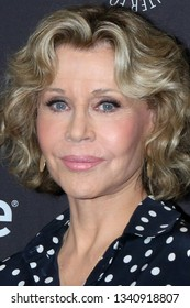 """LOS ANGELES - MAR 16:  Jane Fonda at the PaleyFest - """"Grace and Frankie"""" Event at the Dolby Theater on March 16, 2019 in Los Angeles, CA"""