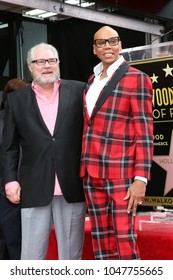 LOS ANGELES - MAR 16:  Teacher, RuPaul Andre Charles at the RuPaul Star Ceremony on the Hollywood Walk of Fame on March 16, 2018 in Los Angeles, CA