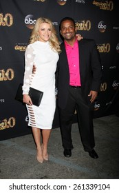 """LOS ANGELES - MAR 16:  Witney Carson, Alfonso Ribeiro at the """"Dancing With the Stars"""" Season 20 Premiere Party at the Hyde Sunset Kitchen & Cocktails on March 16, 2015 in Los Angeles, CA"""