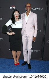 """LOS ANGELES - MAR 17:  Michelle Visage, RuPaul Andre Charles at the PaleyFest - """"RuPaul's Drag Race"""" Event at the Dolby Theater on March 17, 2019 in Los Angeles, CA"""