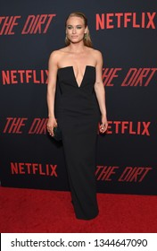 LOS ANGELES - MAR 18:  Leven Rambin arrives for the Netflix 'The Dirt' Premiere on March 18, 2019 in Hollywood, CA