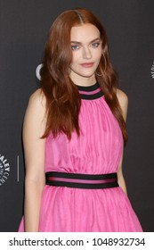 """LOS ANGELES - MAR 18:  Madeline Brewer at the 2018 PaleyFest Los Angeles - """"The Handmaid's Tale"""" at Dolby Theater on March 18, 2018 in Los Angeles, CA"""
