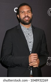 """LOS ANGELES - MAR 18:  O-T Fagbenle at the 2018 PaleyFest Los Angeles - """"The Handmaid's Tale"""" at Dolby Theater on March 18, 2018 in Los Angeles, CA"""