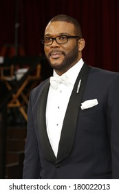 LOS ANGELES - MAR 2:: Tyler Perry  at the 86th Annual Academy Awards at Hollywood & Highland Center on March 2, 2014 in Los Angeles, California
