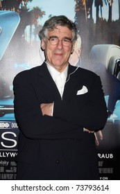 """LOS ANGELES - MAR 22:  Elliott Gould arrives at the HBO's """"His Way"""" Los Angeles Premiere at Paramount Theater on March 22, 2011 in Los Angeles, CA"""