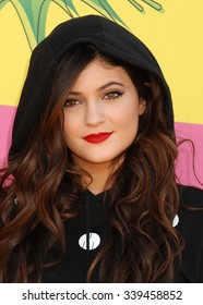 LOS ANGELES - MAR 23 - Kylie Jenner  arrives at the Nickelodeons 2013 Kids Choice Awards on March 23,  2013 in Los Angeles, CA
