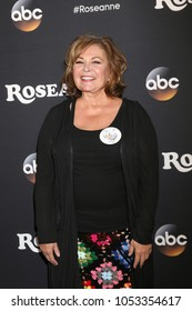 "LOS ANGELES - MAR 23:  Roseanne Barr at the ""Roseanne"" Premiere Event at Walt Disney Studios on March 23, 2018 in Burbank, CA"
