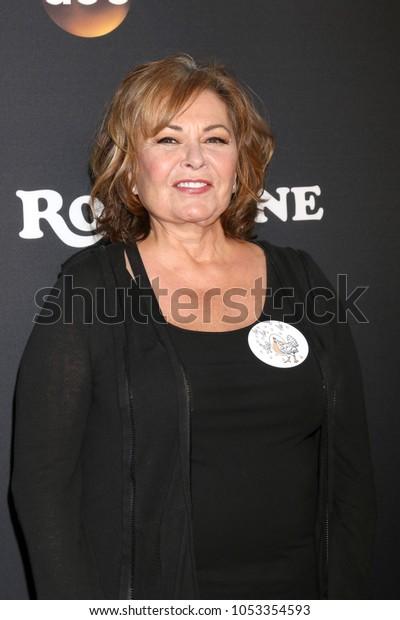 "LOS ANGELES - MAR 23:  Roseanne Barr at the ""Roseanne"" Premiere Event at Walt Disney Studios on March 23, 2018 in Burbank, CA"
