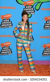LOS ANGELES - MAR 24:  Storm Reid at the 2018 Kid's Choice Awards at Forum on March 24, 2018 in Inglewood, CA