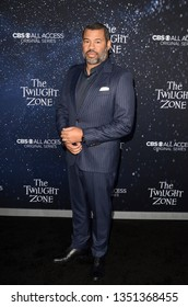 "LOS ANGELES - MAR 26:  Jordan Peele at ""The Twilight Zone"" Premiere at the Harmony Gold Theater on March 26, 2019 in Los Angeles, CA"