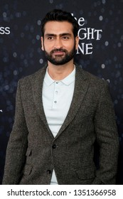 "LOS ANGELES - MAR 26:  Kumail Nanjiani at ""The Twilight Zone"" Premiere at the Harmony Gold Theater on March 26, 2019 in Los Angeles, CA"