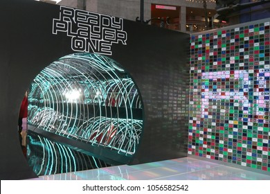 """LOS ANGELES - MAR 26:  Ready Player One General Atmosphere at the """"Ready Player One"""" Premiere at TCL Chinese Theater IMAX on March 26, 2018 in Los Angeles, CA"""