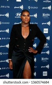 LOS ANGELES - MAR 28:  EJ Johnson at the 30th Annual GLAAD Media Awards at the Beverly Hilton Hotel on March 28, 2019 in Los Angeles, CA