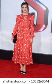 """LOS ANGELES - MAR 28:  Leighton Meester at the """"Shazam"""" Premiere at the TCL Chinese Theater IMAX on March 28, 2019 in Los Angeles, CA"""