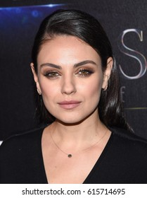 """LOS ANGELES - MAR 28:  Mila Kunis arrives for the CinemaCon 2017-STX Films """"The State of the Industry: Past, Present and Future"""" Presentation on March 28, 2017 in Las Vegas, NV"""