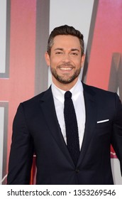 """LOS ANGELES - MAR 28:  Zachary Levi at the """"Shazam"""" Premiere at the TCL Chinese Theater IMAX on March 28, 2019 in Los Angeles, CA"""