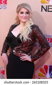 LOS ANGELES - MAR 29:  Meghan Trainor at the 2015 iHeartRadio Music Awards at the Shrine Auditorium on March 29, 2015 in Los Angeles, CA