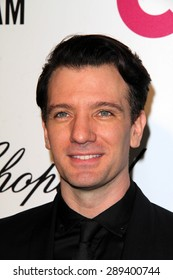 LOS ANGELES - MAR 3:  J.C. Chasez at the Elton John AIDS Foundation's Oscar Viewing Party at the West Hollywood Park on March 3, 2014 in West Hollywood, CA