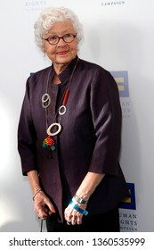 LOS ANGELES - MAR 30:  Betty DeGeneres at the Human Rights Campaign 2019 Los Angeles Dinner  at the JW Marriott Los Angeles at L.A. LIVE on March 30, 2019 in Los Angeles, CA