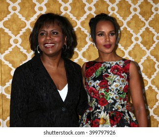 LOS ANGELES - MAR 31:  Anita Hill, Kerry Washington at the Confirmation HBO Premiere Screening at the Paramount Studios Theater on March 31, 2016 in Los Angeles, CA