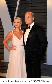LOS ANGELES - MAR 4:  Kayte Walsh, Kelsey Grammer at the 24th Vanity Fair Oscar After-Party at the Wallis Annenberg Center for the Performing Arts on March 4, 2018 in Beverly Hills, CA