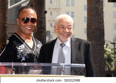LOS ANGELES - MAR 6:  Bill Withers, Ray Parker Jr at the Ray Parker Jr Hollywood Walk of Fame Star Ceremony at Walk of Fame on March 6, 2014 in Los Angeles, CA