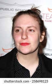 LOS ANGELES - MAR 7:  Lena Dunham at the Raising The Bar To End Parkinsons Event at the Public School 818 on March 7, 2015 in Sherman Oaks, CA