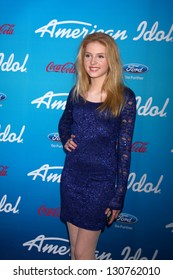 """LOS ANGELES - MAR 7:  Saxon Sharbino arrives at the 2013 """"American Idol"""" Finalists Party at the The Grove on March 7, 2013 in Los Angeles, CA"""