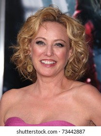 "LOS ANGELES - MAR 7:  Virginia Madsen arrives at the ""Red Riding Hood"" premiere on March 7, 2011 in Hollywood, CA"