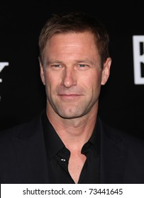 "LOS ANGELES - MAR 8:  Aaron Eckhart arrives at the ""Battle: Los Angeles"" Los Angeles Premiere on March 8, 2011 in Westwood, CA"